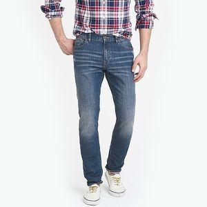 J. Crew Factory Driggs Slim Fit Jean in Austin NWT